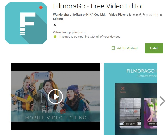 Best mobile video editing software