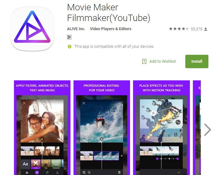 Best android app for video editing