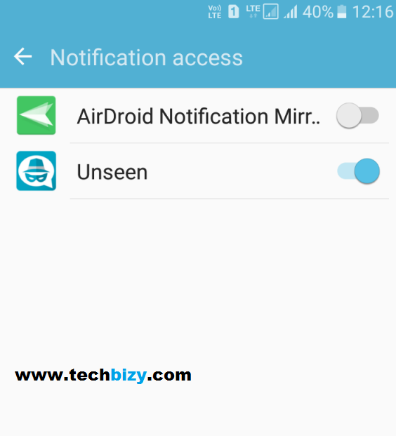 Hide your last seen in android