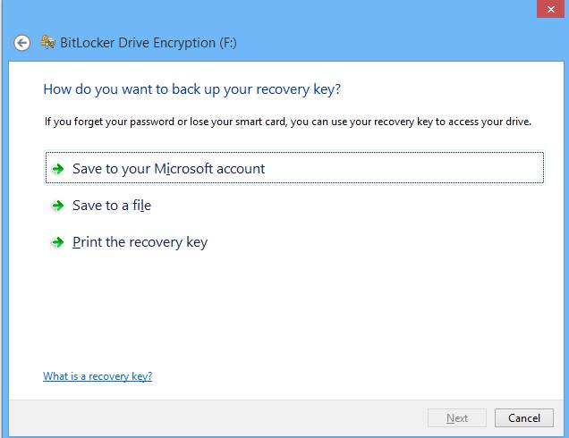 How to password protect pen drive using bit locker