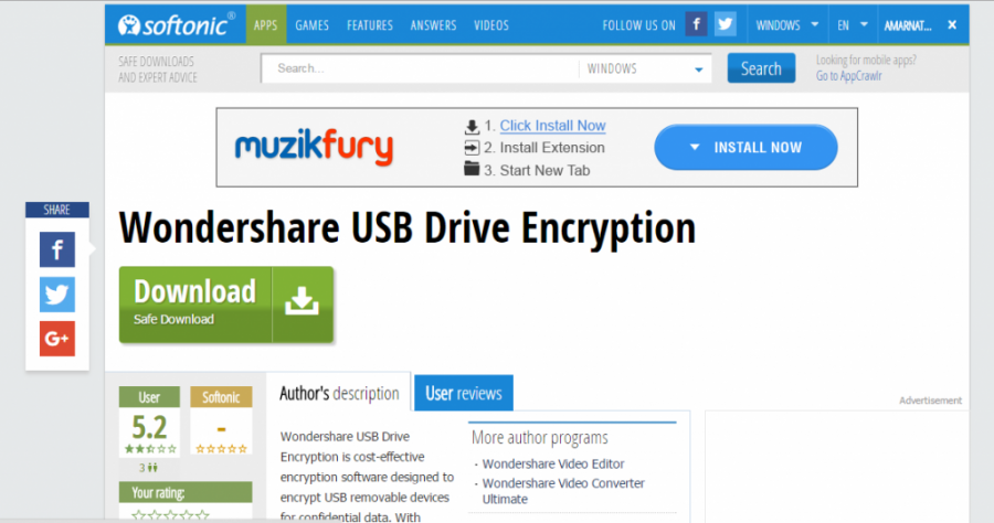 how to put password on Pen drive