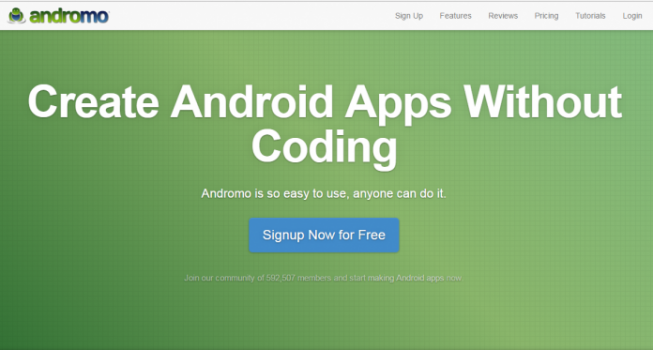 How to create app without coding