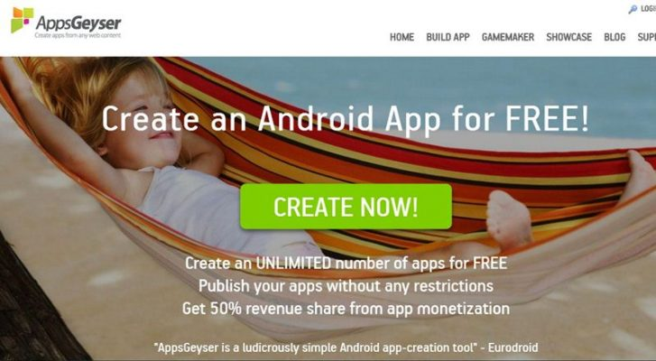 Best way to build android app without coding