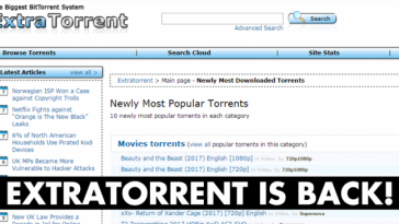 Extratorrent is back