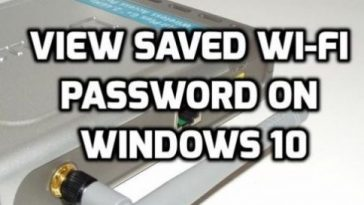 How To Find Saved Password Of Wifi in Windows 10