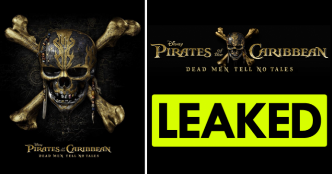 Photo of Pirates Of Caribbean 5 Leaked On Torrent Sites
