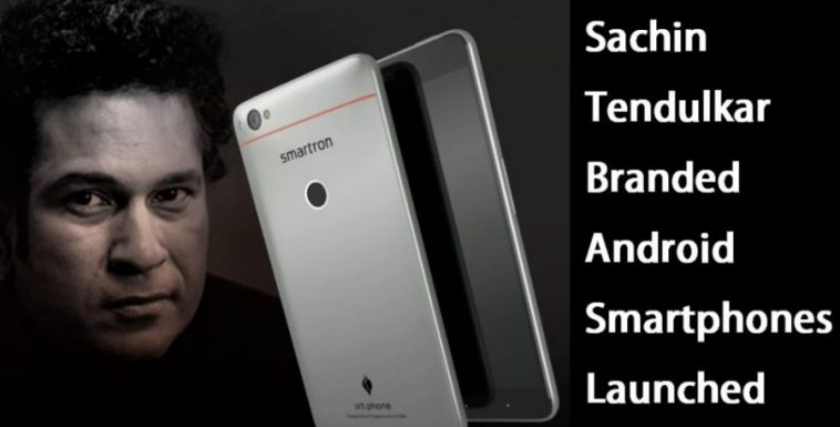 Sachin Tendulkar Branded Android Smartphones Launched