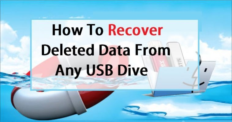 Restore delted data from usb drive