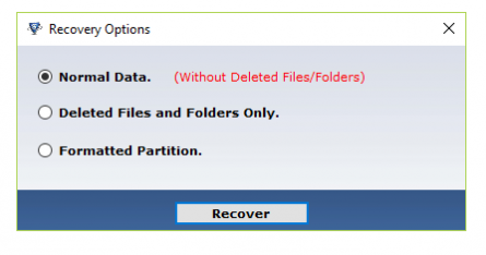How to recover deleted data of pen drive