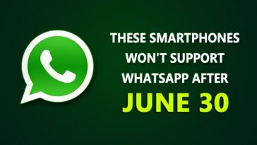 WhatsApp Will No Longer Support These Smartphones