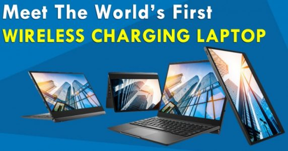 World's first Wireless charging laptop