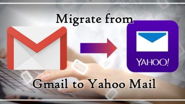 Gmail to yahoo mail