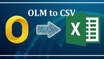 OLM to CSV