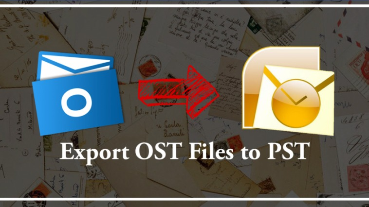 export ost files to pst