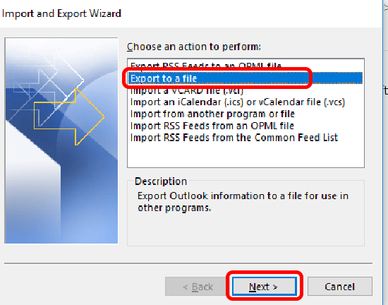 pst to g suite export pst from outlook