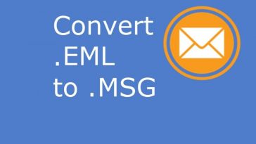 Convert .eml to .msg with attachments
