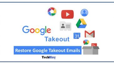 Restore google Takeout