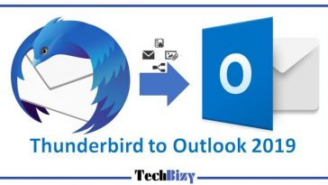Thunderbird to Outlook 2019