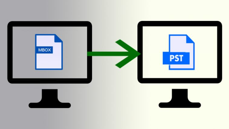 Convert MBOX To PST Manually