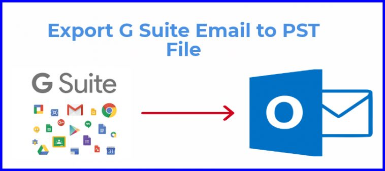 export G Suite Email to PST