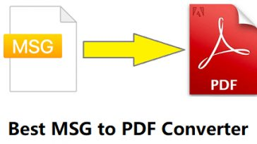 best msg to pdf converter