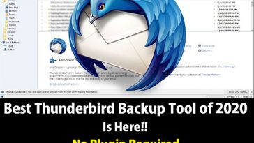 best thunderbird backup tool