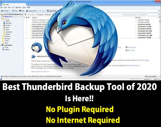 Photo of Best Thunderbird Backup Software of 2021 – No Plugin Required