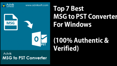Photo of Top 7 Best MSG to PST Converter for Windows [2021]