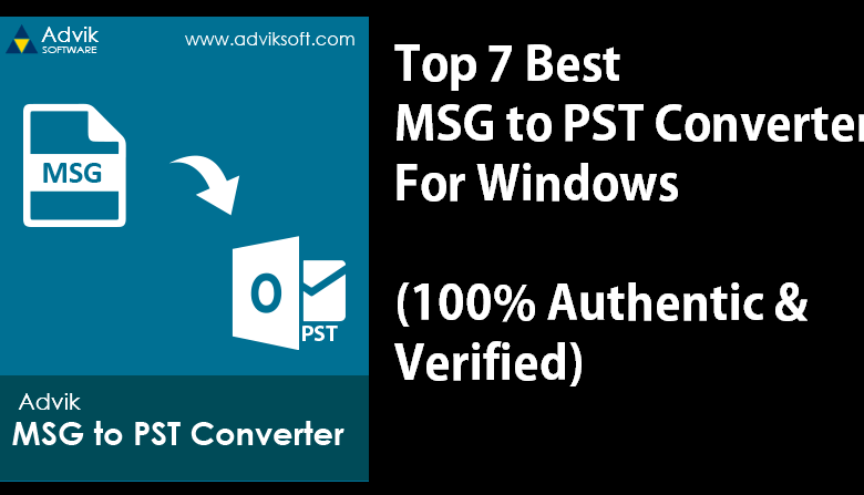 best msg to pst converter